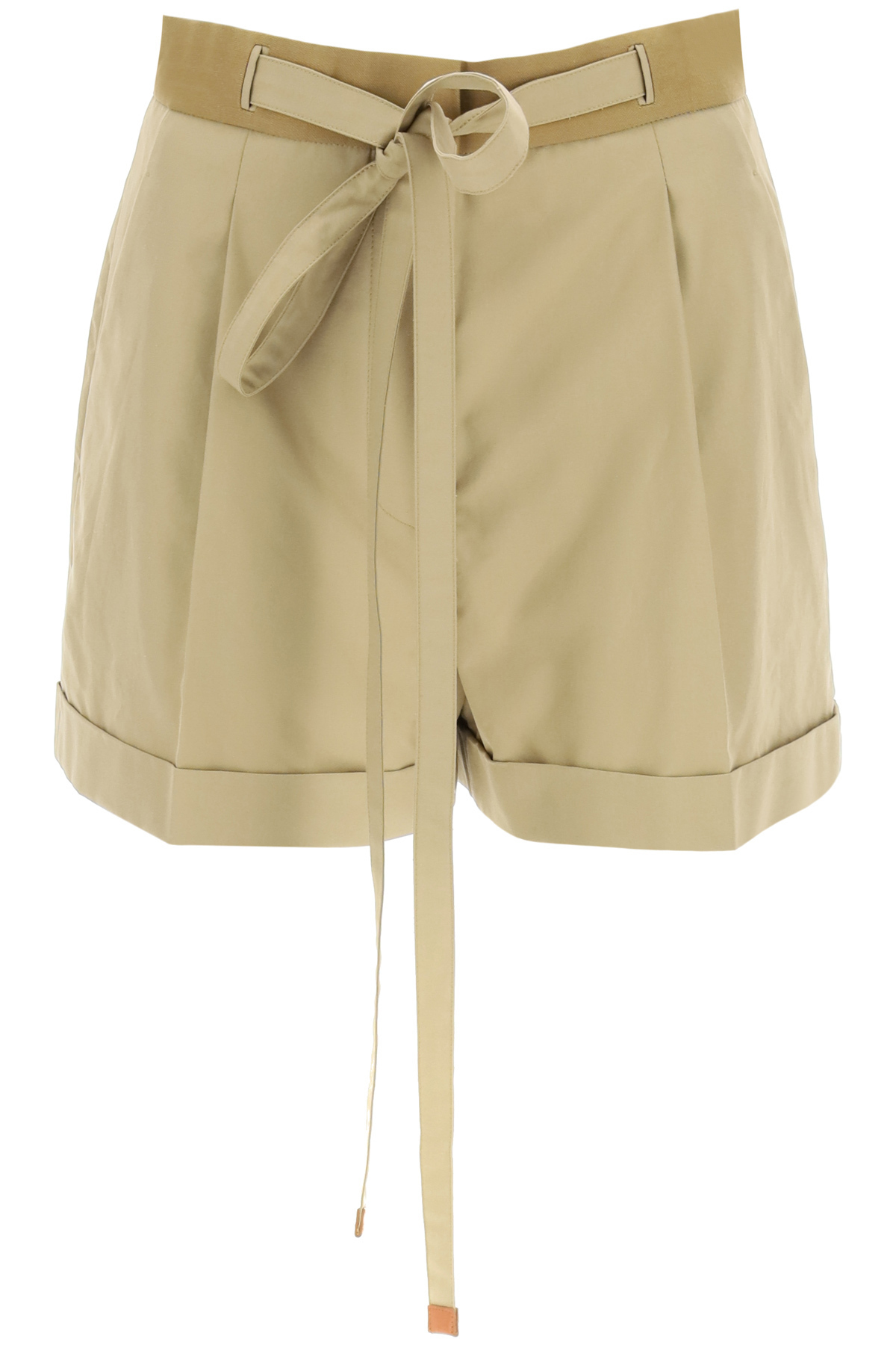 Loewe Cottons BELTED SHORTS