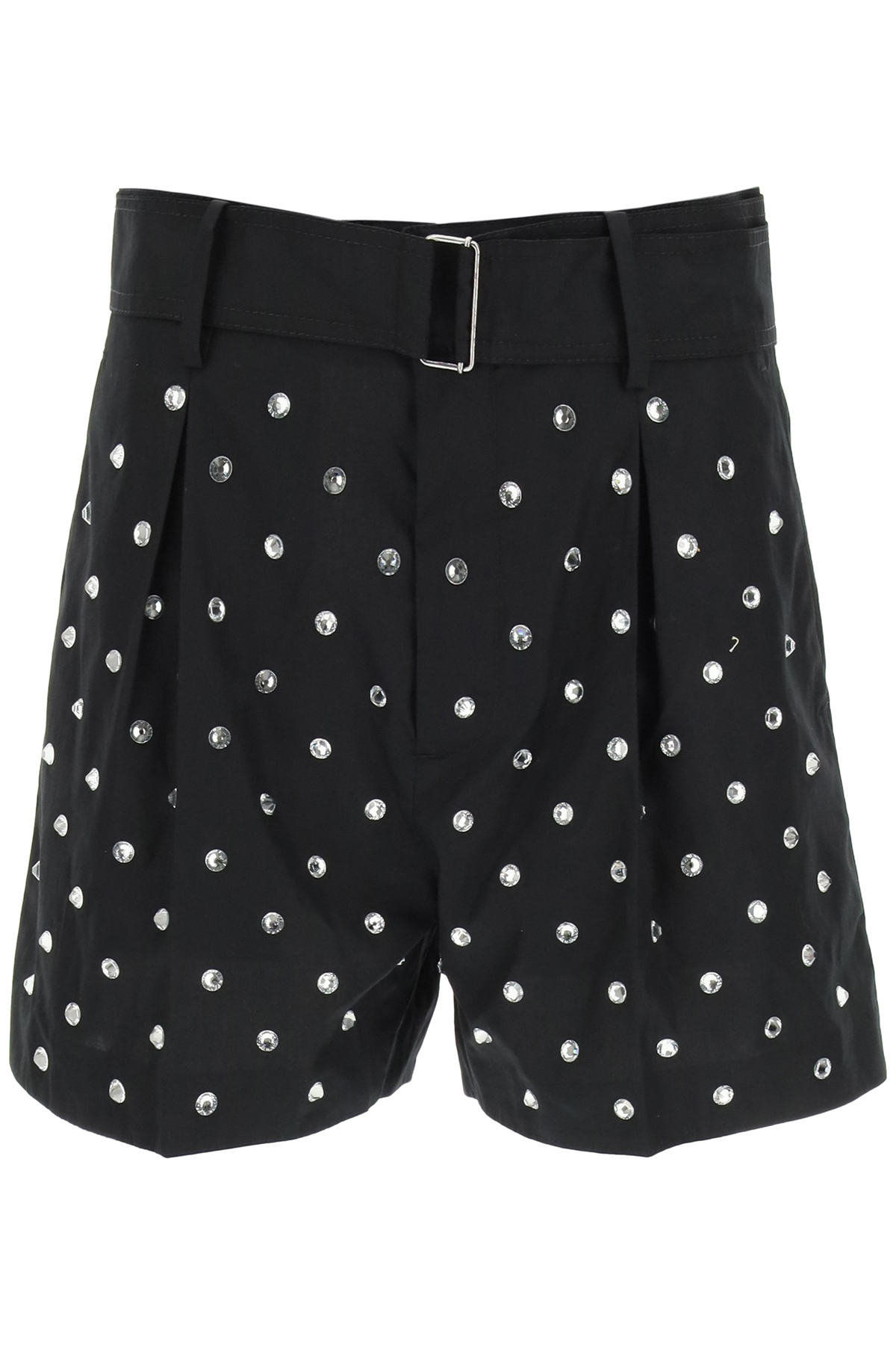N°21 JEWEL SHORTS WITH CRYSTALS