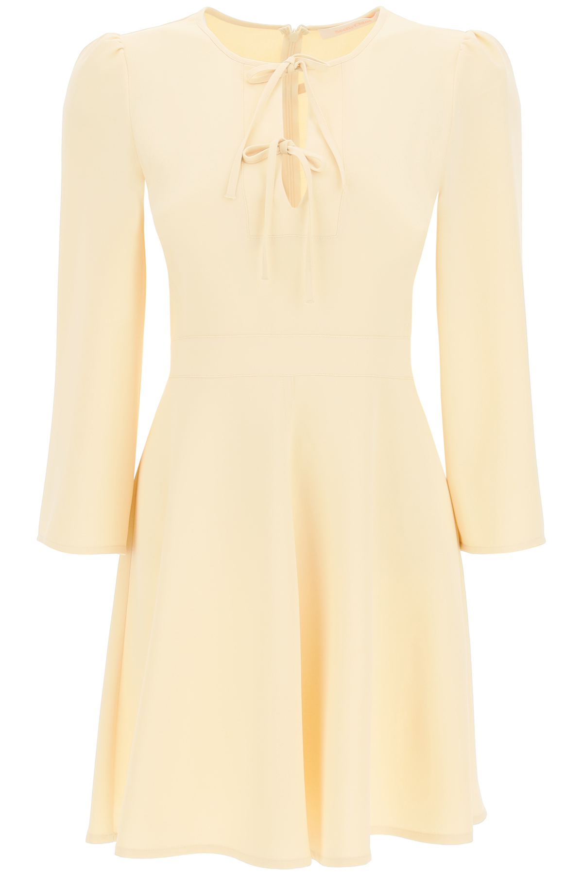 See By Chloé CREPE DRESS WITH BOWS