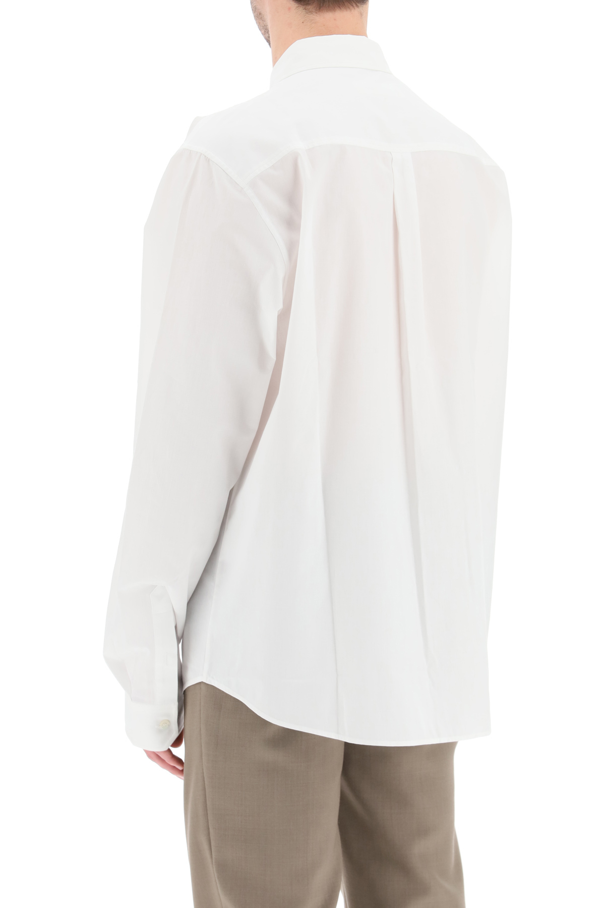Y/PROJECT Cottons SHIRT WITH ASYMMETRIC COLLAR