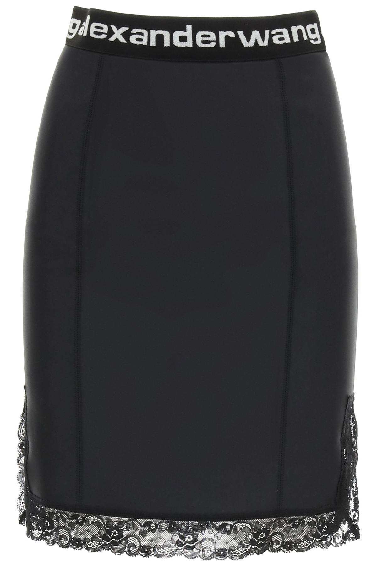 Alexander Wang MINI SKIRT WITH LACE